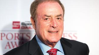 NEW YORK, NY - MAY 24:  Sportscaster Al Michaels attends the 10th Annual Sports Business Awards at The New York Marriott Marquis on May 24, 2017 in New York City.  (Photo by Mike Pont/WireImage)