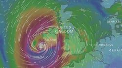 Ireland And The UK Brace For 'Danger To Life' From Hurricane