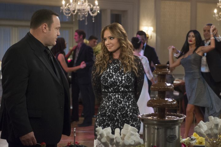 "James and Remini's characters are former cop partners in ""Kevin Can Wait."""