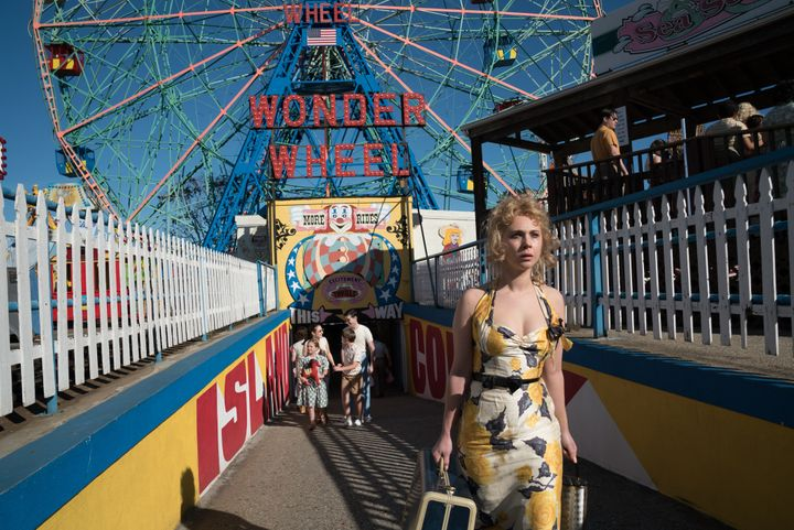 "Juno Temple stars in ""Wonder Wheel."""