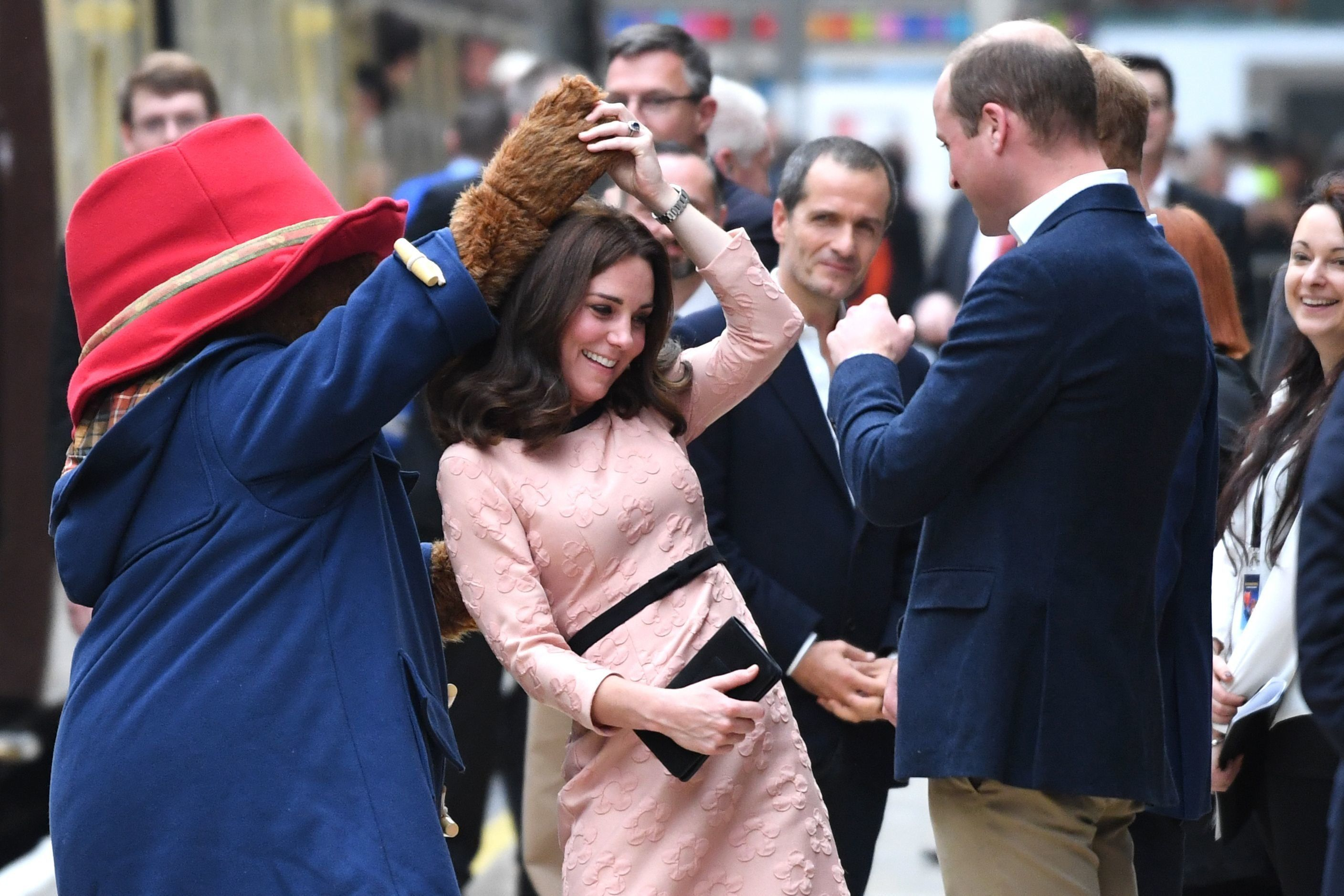 Duchess Of Cambridge Dances With Paddington Bear In Latest Public