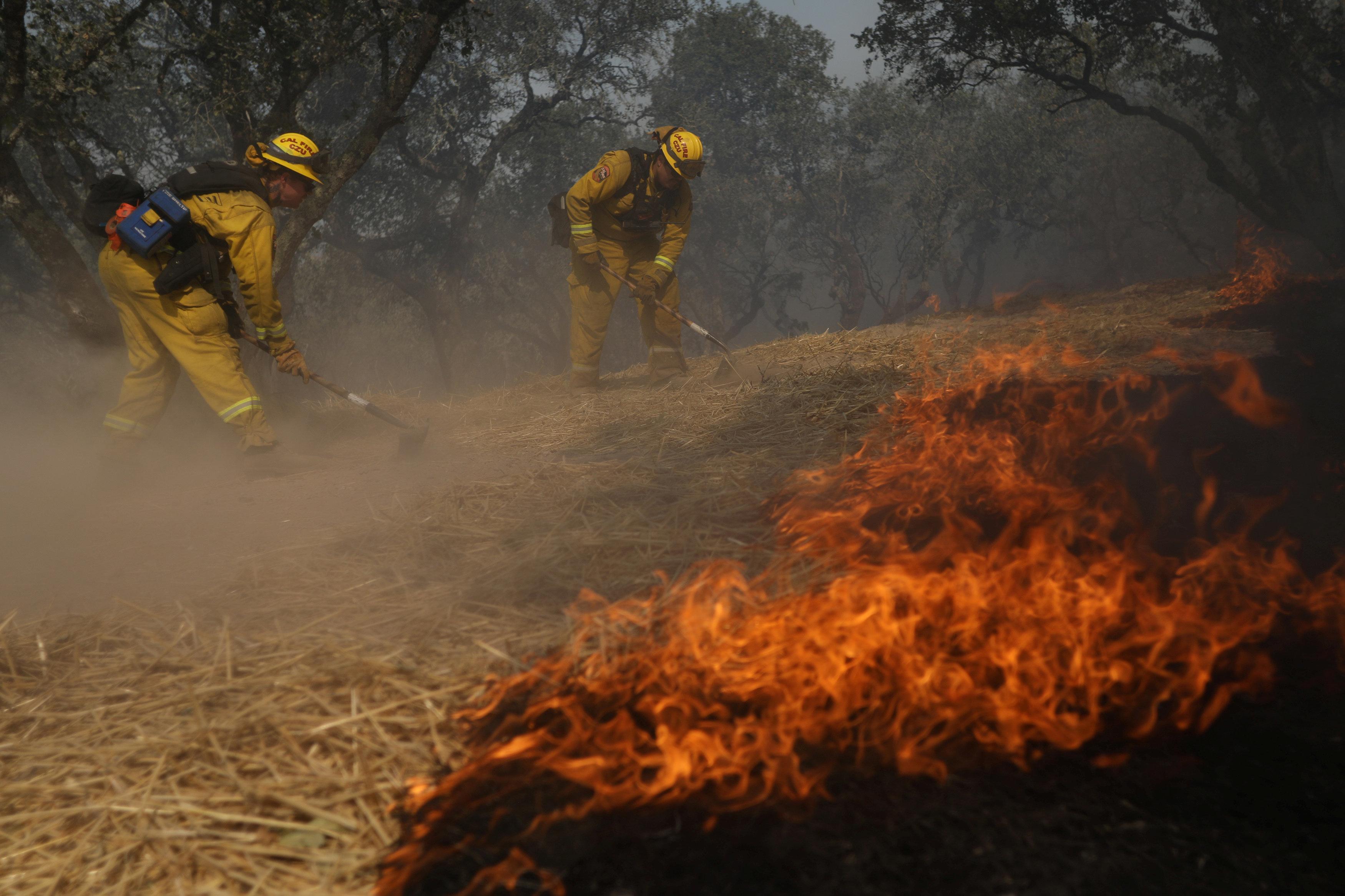 Firefighters Gaining Ground Against California's Deadliest Ever Blazes