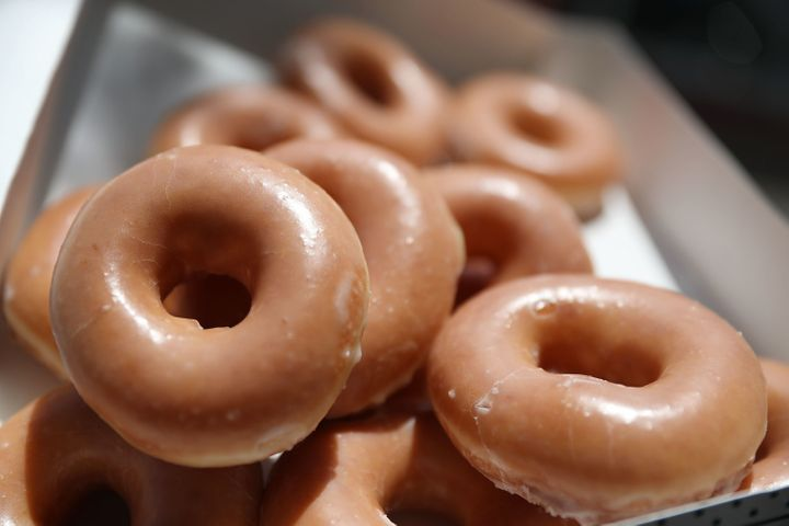 "Daniel Rushing, 65, says he still eats Krispy Kreme doughnuts every other week despite the ""meth"" mix-up in 2015."
