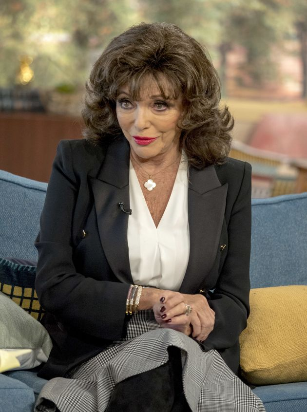 Joan Collins Suffered 'Endemic' Sexual Harassment Throughout 60-Year