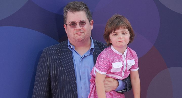 Oswalt and his daughter, Alice.