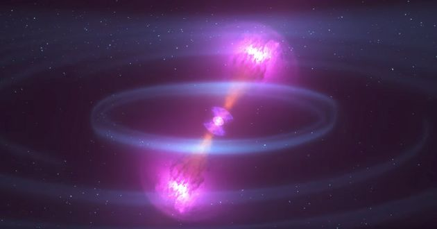 Two Neutron Stars Collide In Explosion So Powerful It Caused Ripples In The Universe