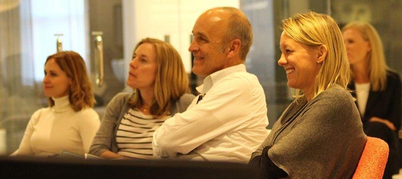 Chicago 2.0 workshop participants Ashley Patel (Interiors for Business), Mel Chotiner (Wright Hereema Architects), Bob King (
