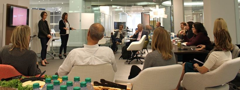 Chicago 2.0 Workshop: Special thanks to Level Reps and Arcadia for providing showroom space.