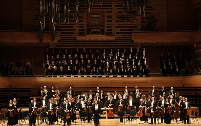 Kent Nagano and Orchestre Symphonique de Montréal at Maison Symphonique, Montreal Canada.