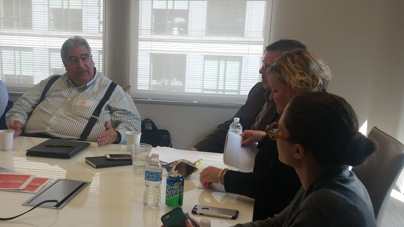 Washington D.C. participants David Solomon (Solomon Coyle), Jud Buchanan (Washington Group Solutions), Julie Deignan (CBRE),