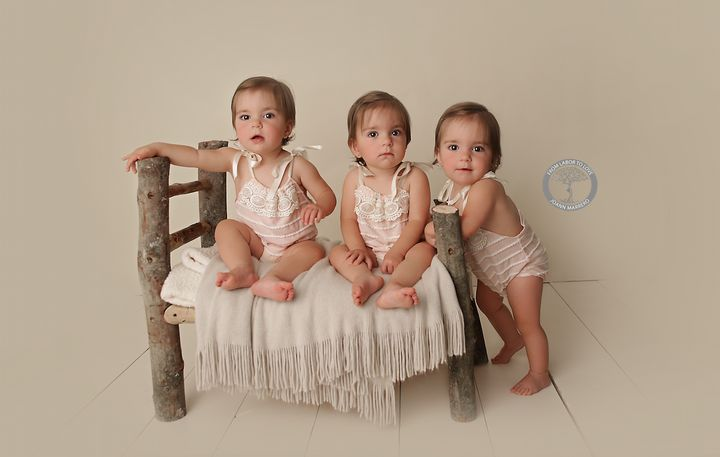 Marrero recently took more photos of Aubrey, Bailey and Charlotte.