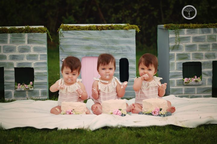Marrerovolunteered her services a year later to celebratethe triplets' first birthday.