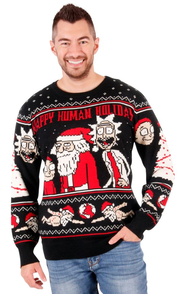 "Considering how devoted the ""Rick and Morty"" fanbase is, I suspect <a href=""http://www.uglychristmassweater.com/product/rick-"