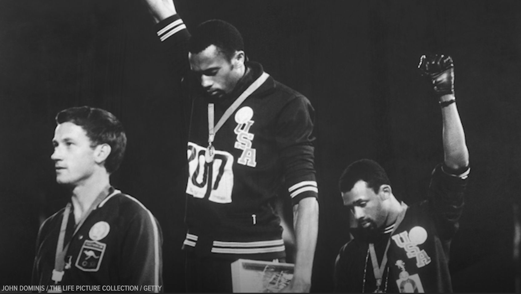 Black Olympians paved the way for Colin Kaepernicks NFL protest