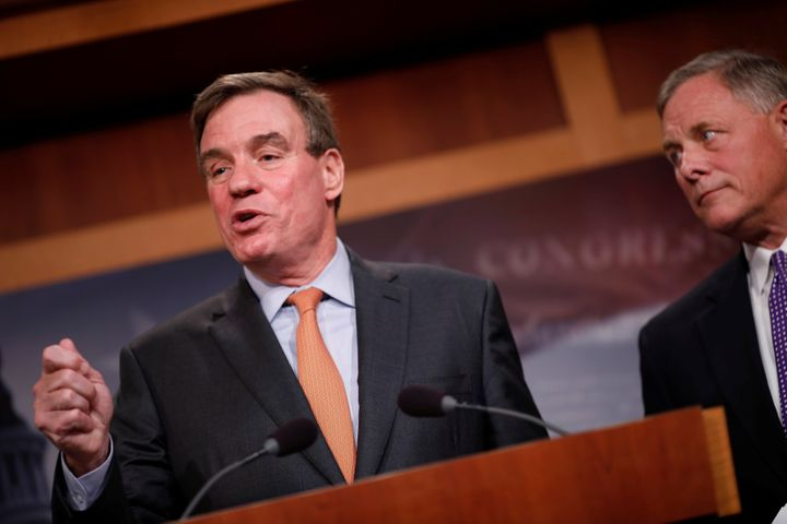 Sen. Mark Warner is writing legislation to require Facebook and other online platforms to publicly disclose political adverti