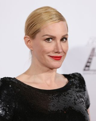 HOLLYWOOD, CA - FEBRUARY 06: Alice Evans attends the Society of Camera Operators Lifetime Achievement Awards held at Paramount Theatre on February 6, 2016 in Hollywood, California.(Photo by JB Lacroix/WireImage)