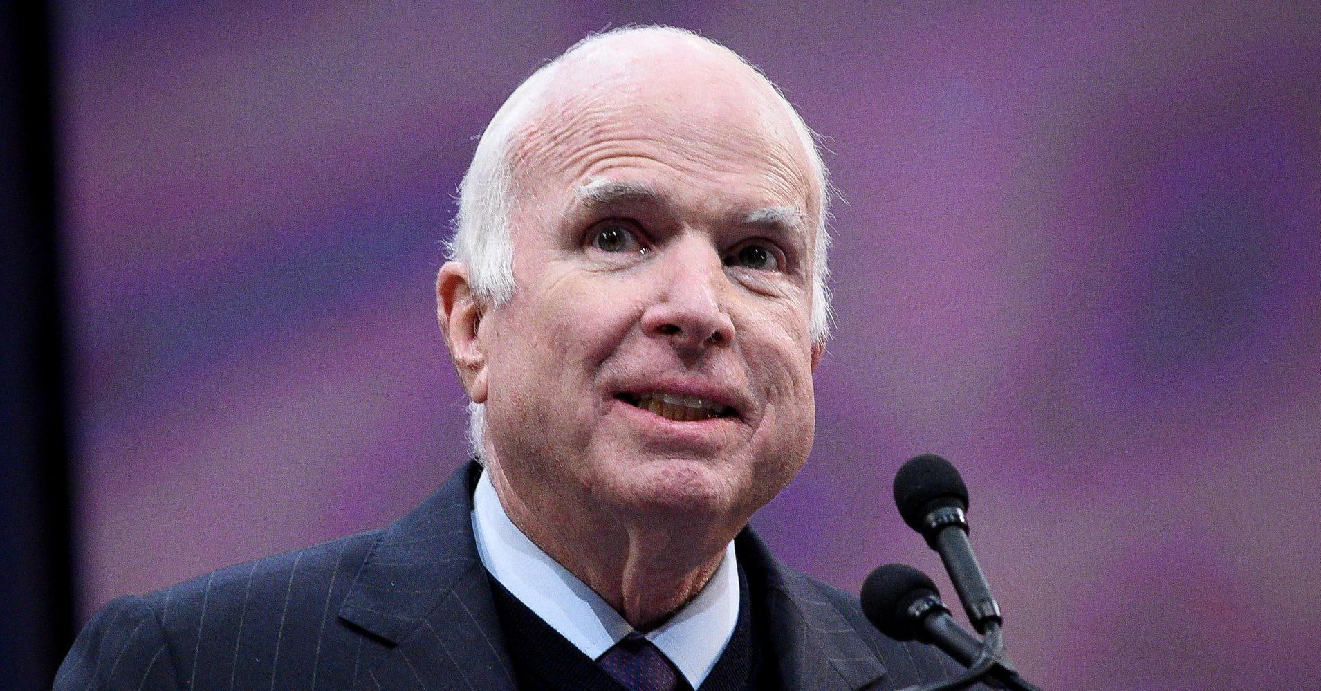 John McCain, Accepting Award For Public Service, Slams 'Half-Baked' Nationalism
