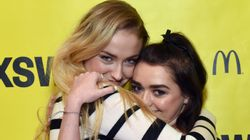 Maisie Williams Has The Best Reaction To Sophie Turner's