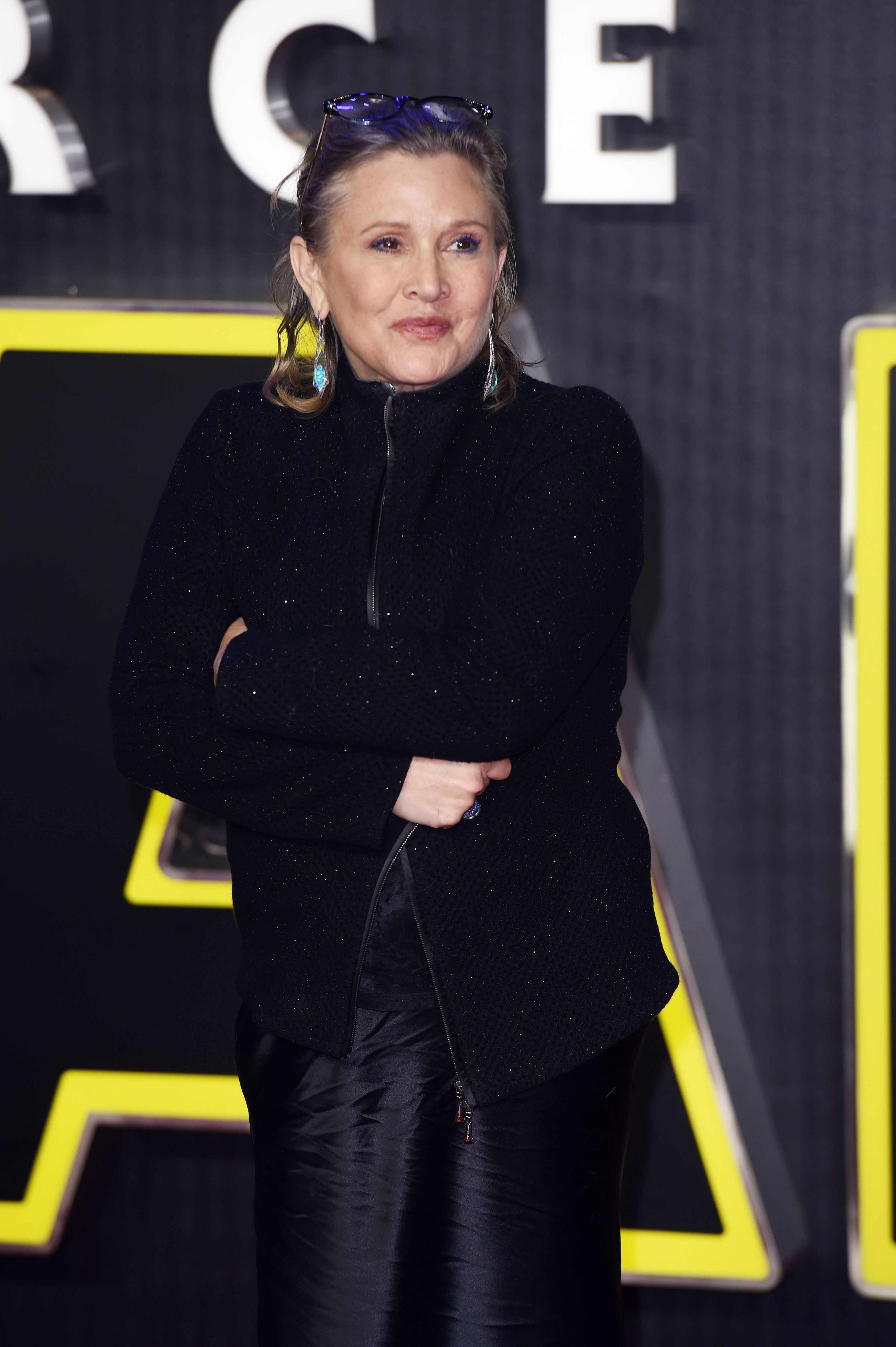 Carrie Fisher Once Sent An Actual Cow's Tongue To A Producer Who Sexually Harassed Her Friend