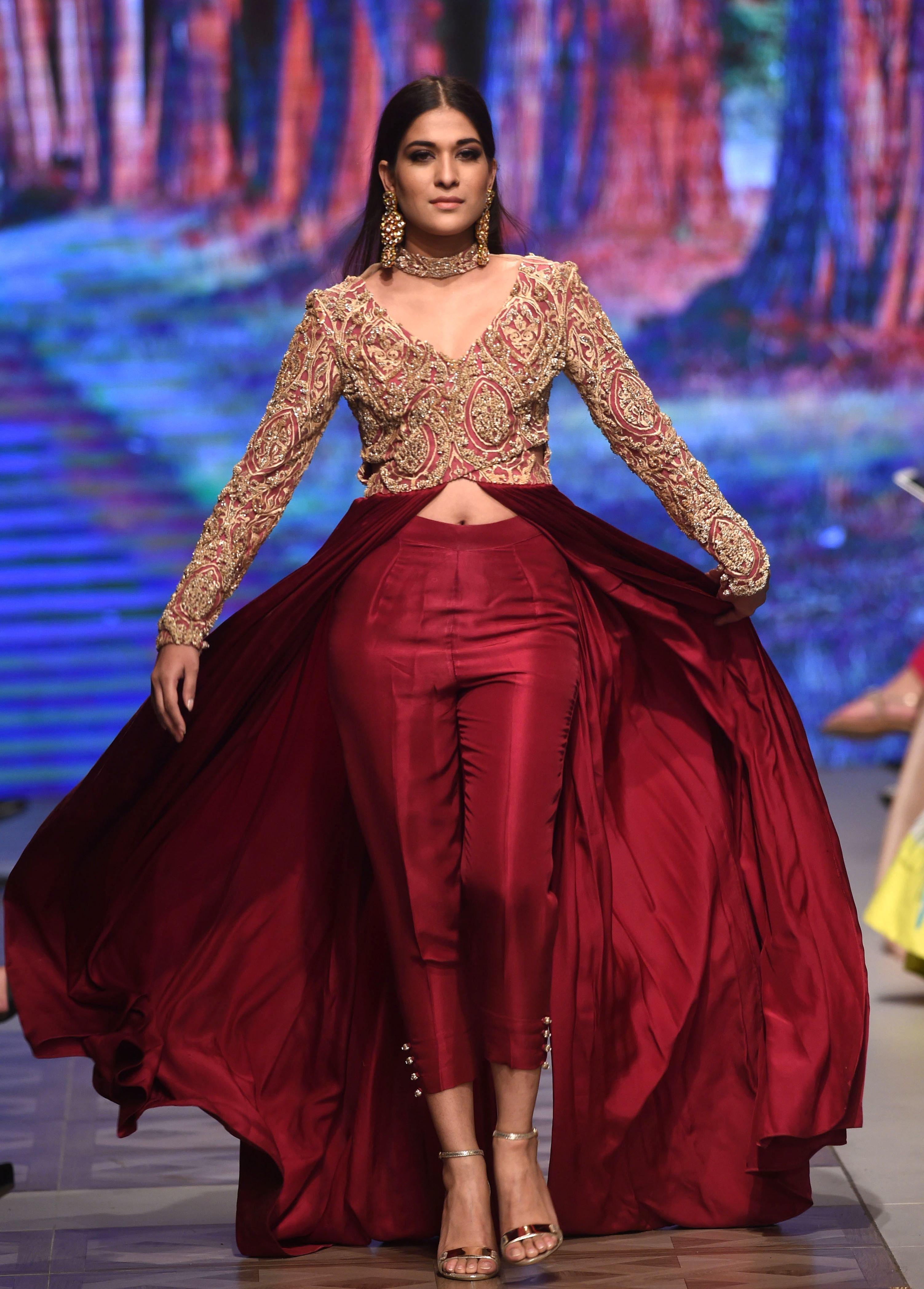 Pakistan fashion week 2018 lahore 30