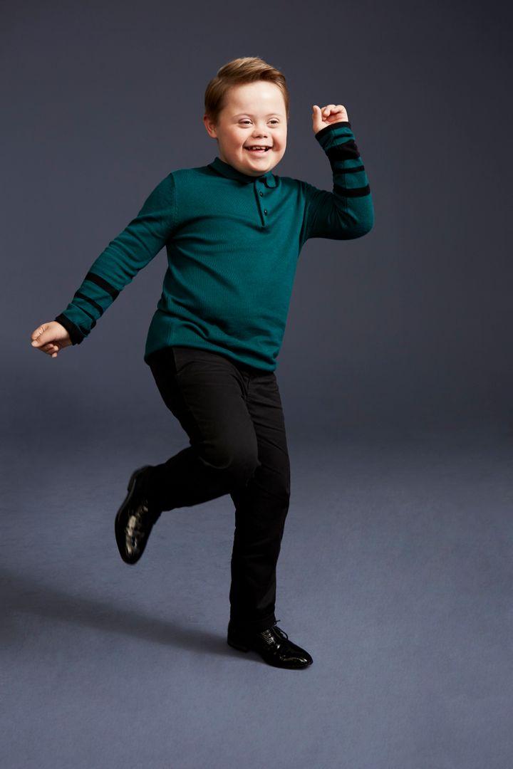 Joseph Hale stars in River Island's latest kidswear advertising campaign.