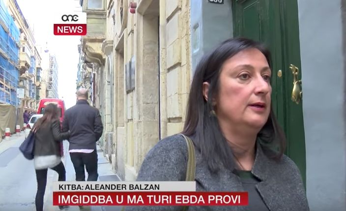 Caruana Galizia was a regular face on the news after she examined the Maltese content in the Panama Papers leaked in 2016
