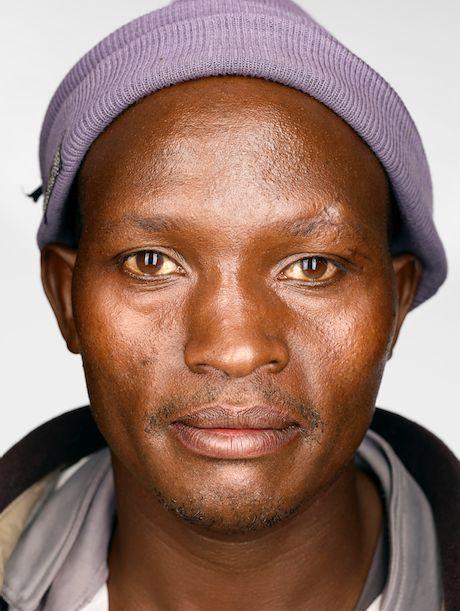 Simon Mburu, 40, Kenya.