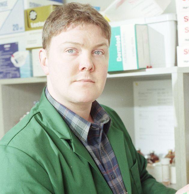 Dominic in 'Emmerdale' in