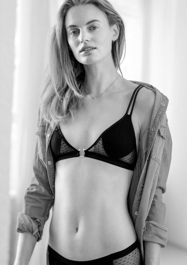 The 'Little Black Bra': Lingerie Designed To Emphasise The Beauty Of Small