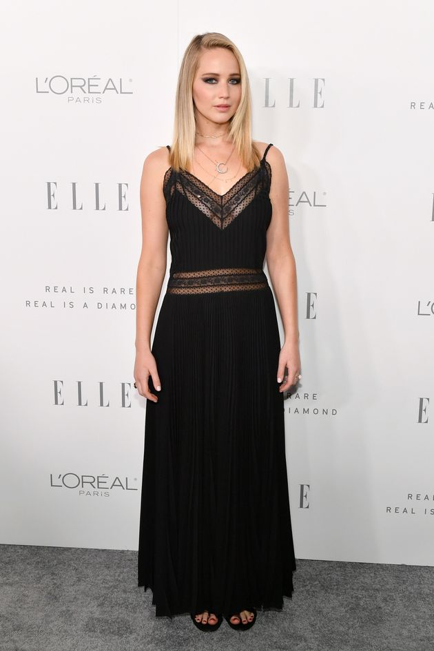 Jennifer Lawrence attends ELLE's 24th Annual Women in Hollywood