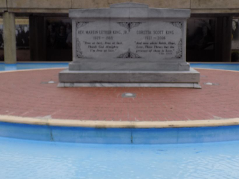 Tomb of Dr. Martin Luther King and Corett Scott King