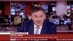 Royal Baby Due Date: BBC's Simon McCoy Reacts With The Enthusiasm It