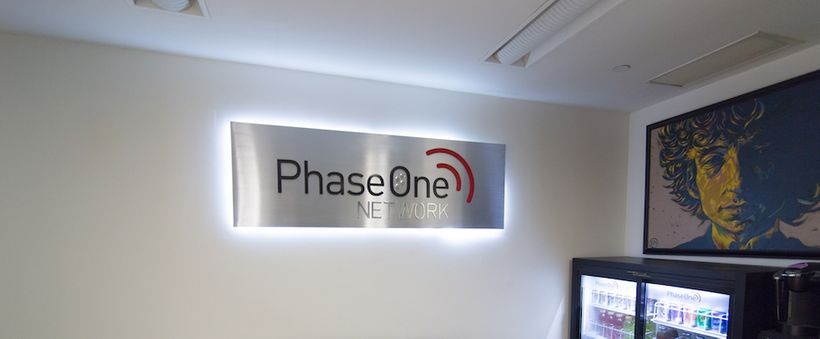 The Phase One Network offices