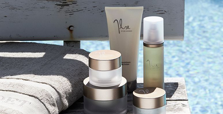 Ilse's own range of beauty products to take home enjoy for a daily pampering