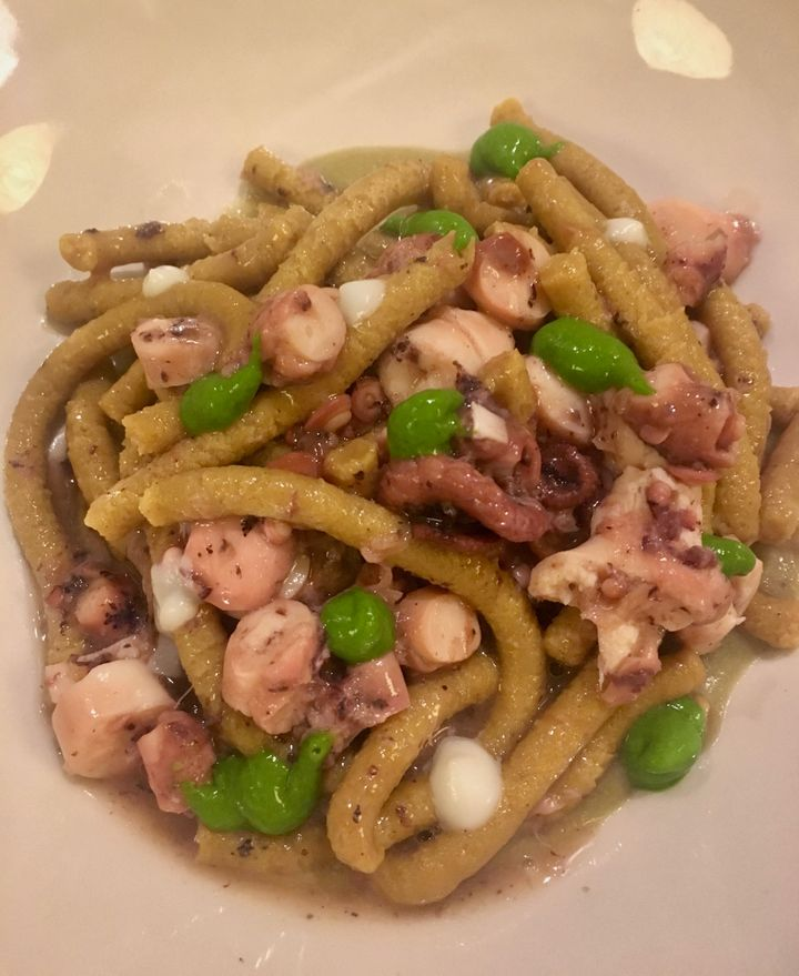 At Franceschetta58, the passatelli were served with octopus; when I make them, they'll swim in rich broth