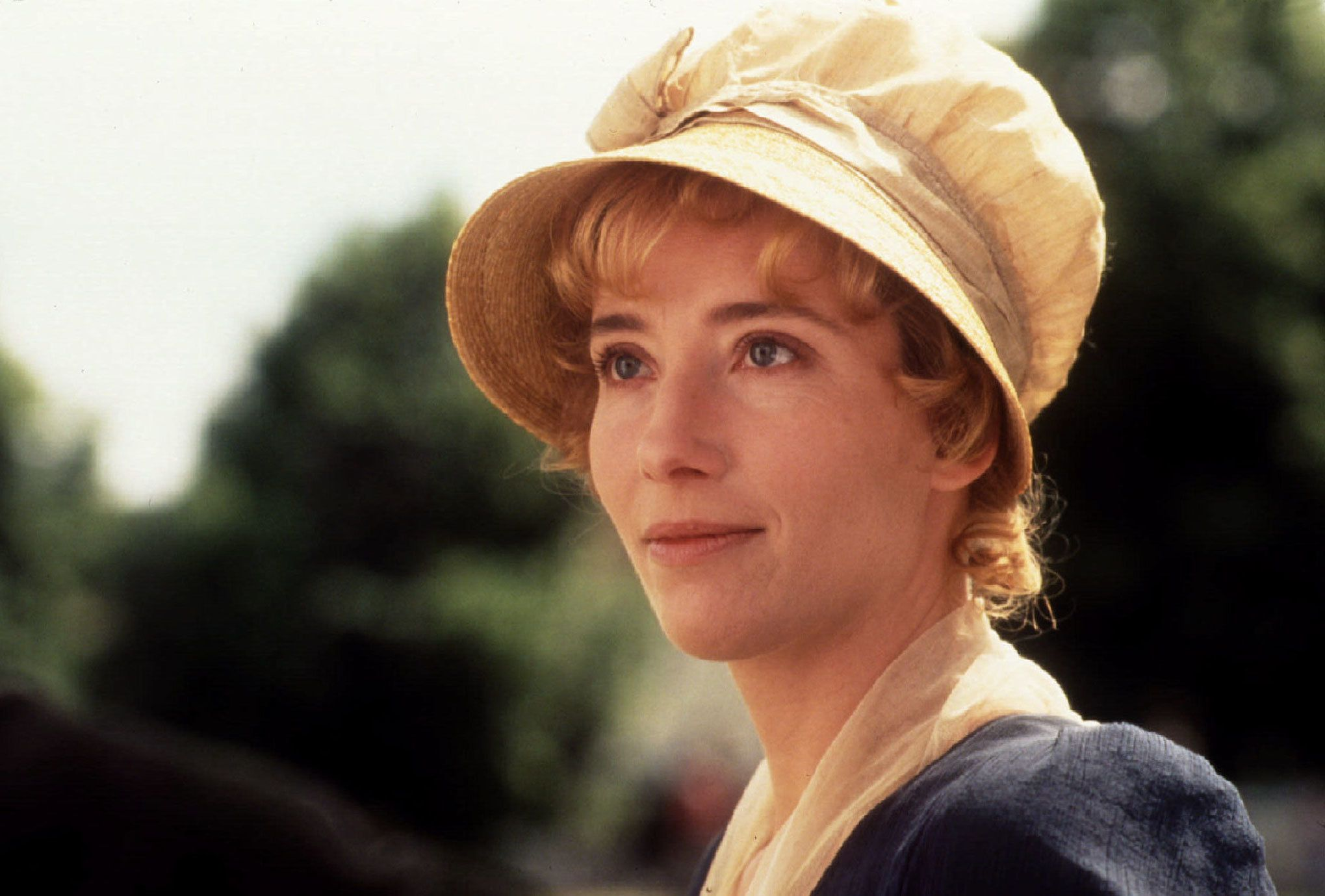 "Actress Emma Thompson received a Golden Globe Award nomination as best  drama actress for her portrayal of  ""Elinor Dashwood"" in a scene from the film ""Sense and Sensibility"" December 21. The film received six Golden Globe Award nominations December 21, the most for any film; including best drama motion picture, best director, best screenplay, also by Thompson, best supporting actress and best original score"