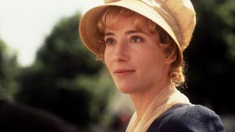 """Actress Emma Thompson received a Golden Globe Award nomination as best  drama actress for her portrayal of  """"Elinor Dashwood"""" in a scene from the film """"Sense and Sensibility"""" December 21. The film received six Golden Globe Award nominations December 21, the most for any film; including best drama motion picture, best director, best screenplay, also by Thompson, best supporting actress and best original score"""