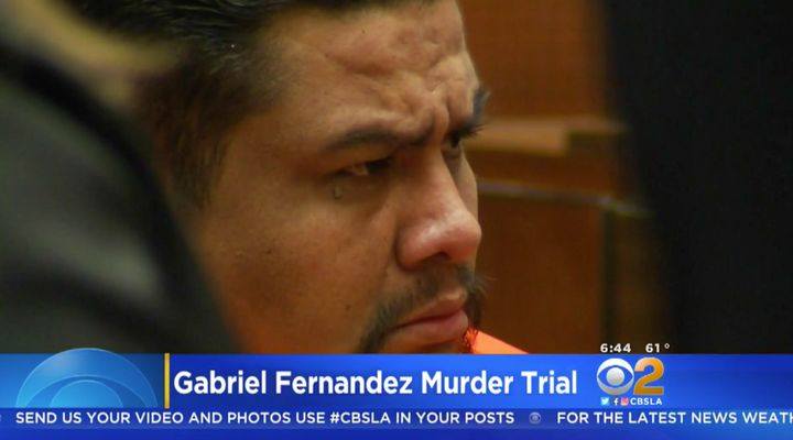 Isauro Aguirre in court on Monday.