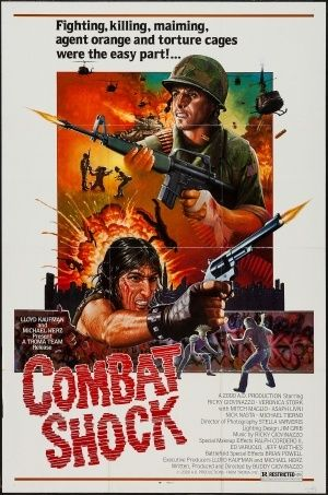 Troma Entertainment's <em>Combat Shock</em> (1986) focused on the aftermath of the Vieatnam War