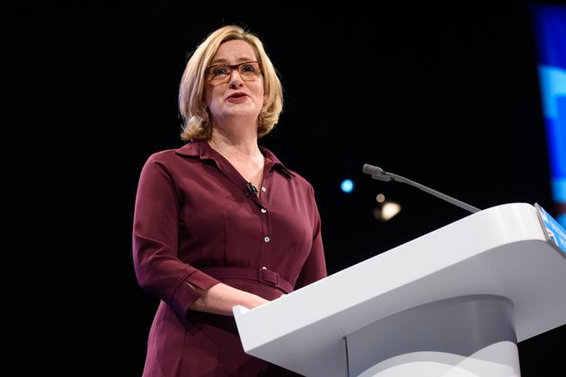 Home secretary Amber Rudd has criticised encryption services, saying they allowed crime groups to operate...