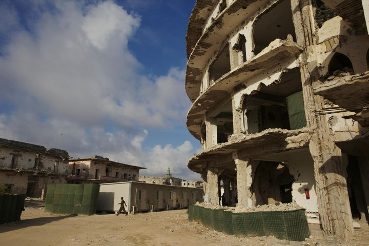 The streets of Mogadishu, rocked by a massive bomb blast on Saturday, already bear the scars of many years of violence and in