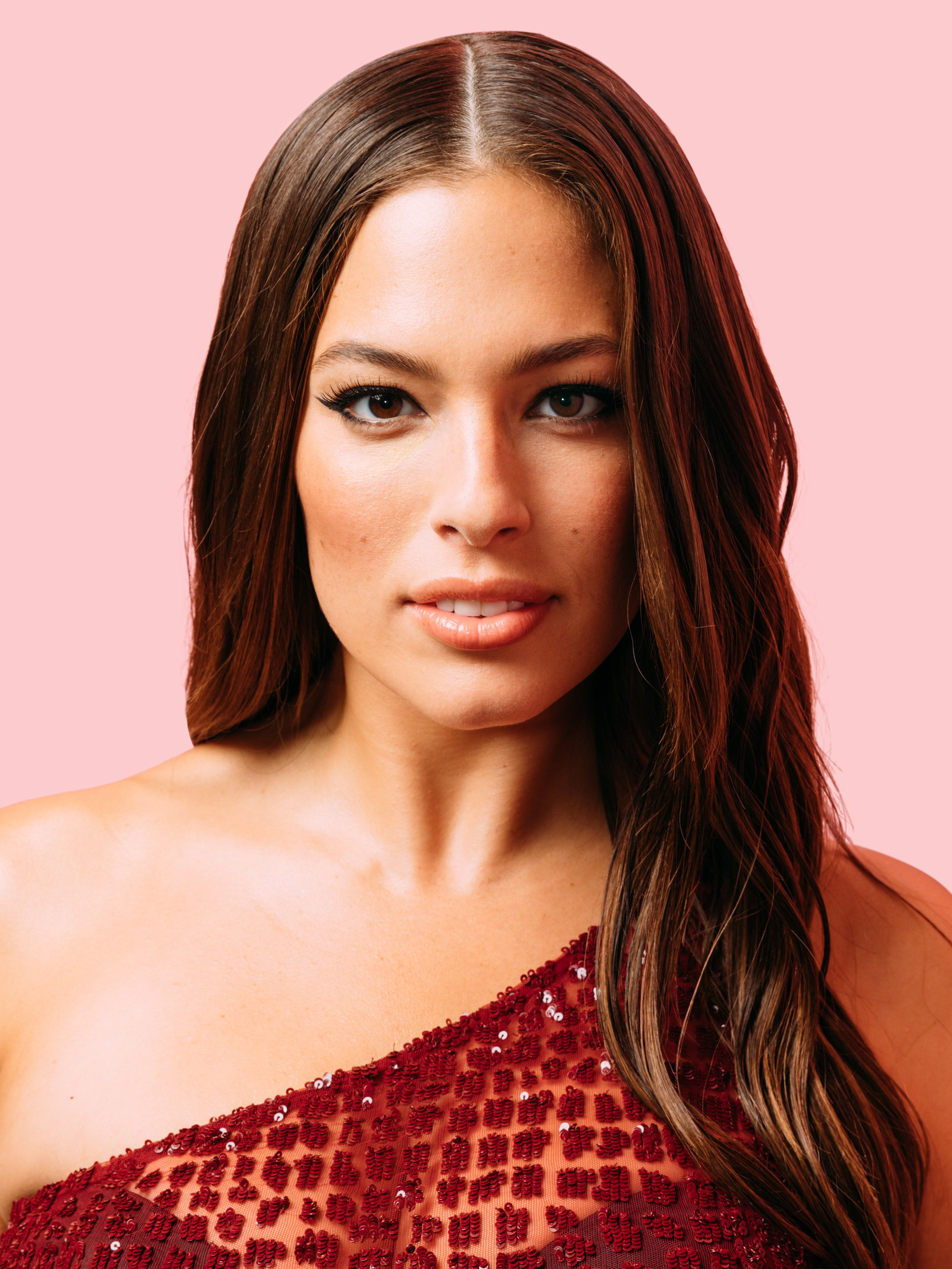 NEW YORK, NY - SEPTEMBER 08:  Model Ashley Graham poses for a portrait during the Daily Front Row's Fashion Media Awards at Four Seasons Hotel New York Downtown on September 8, 2017 in New York City.  (Photo by Zack DeZon/Getty Images)