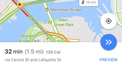 Google Maps Just Food-Shamed Its Users With A Calorie