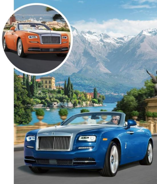 "Each of these Exclusive Rolls-Royce Dawn Drophead Coupés is ""<a href=""http://www.neimanmarcus.com/NM/FANTASY-GIFT"