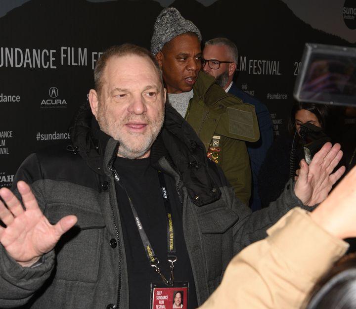 Harvey Weinstein at the 2017 Sundance Film Festival.