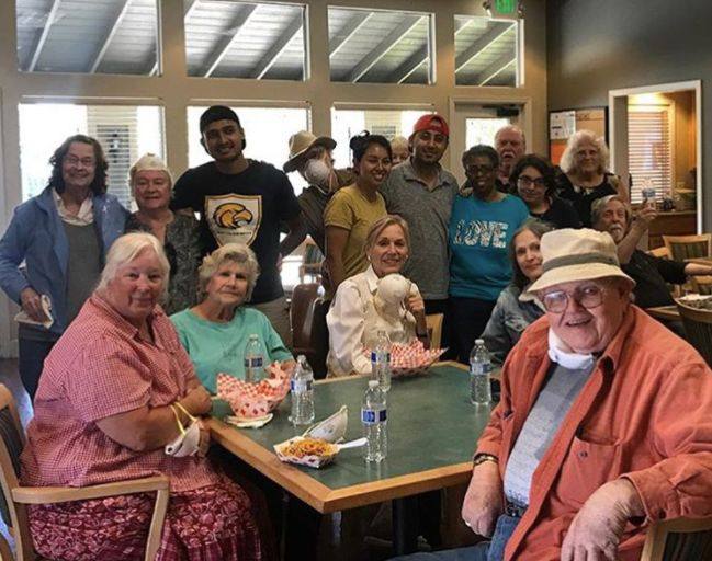 "Senior citizens and their families <a href=""https://www.instagram.com/p/BaVNbnRAVgX/?taken-by=offthegridsf"" target=""_blank"">enjoyed food truck meals</a> in Santa Rosa over the weekend."