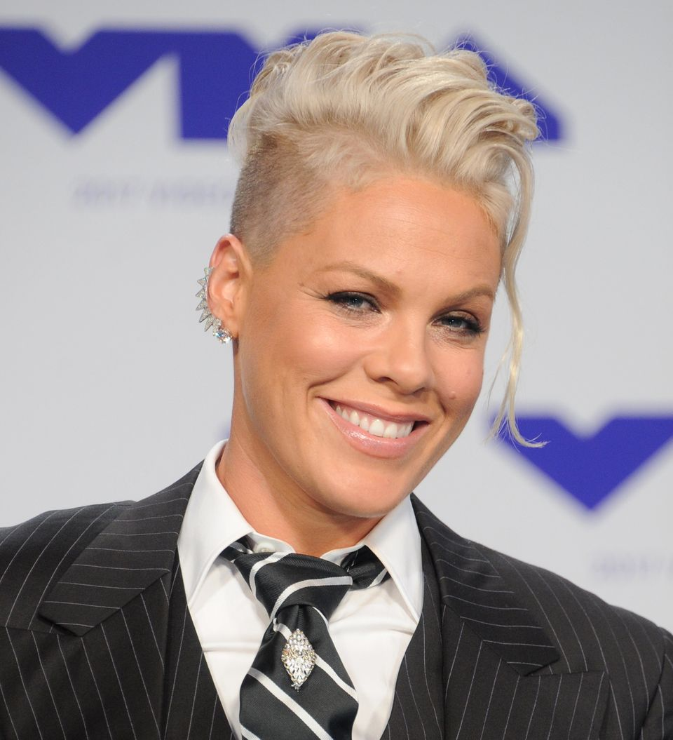 "Pink revealed she was pregnant with her daughter during a 2010 episode of <a href=""https://www.youtube.com/wat"