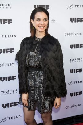 VANCOUVER, BC - SEPTEMBER 30: Actress Mia Kirshner arrives on the red carpet for her film 'Milton's Secret' at the Centre for the Performing Arts during the 35th Vancouver International Film Festival on September 30, 2016 in Vancouver, Canada. (Photo by Phillip Chin/WireImage)
