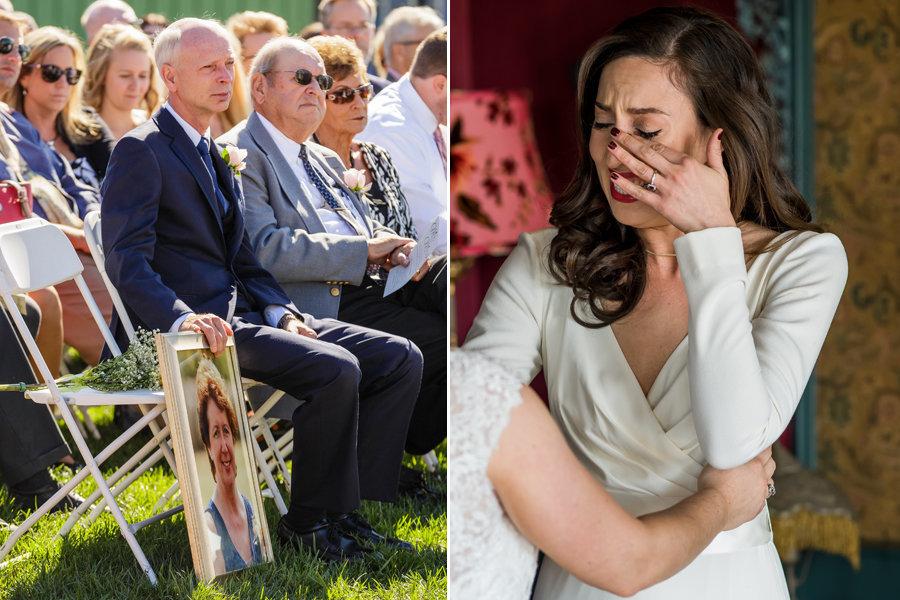 21 momentos de emoção em casamentos que deixaram os fotógrafos em