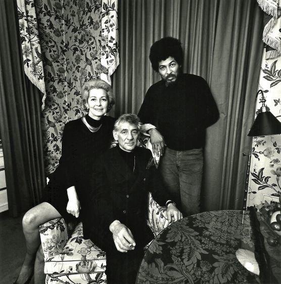 My parents with Black Panther representative Donald Cox.